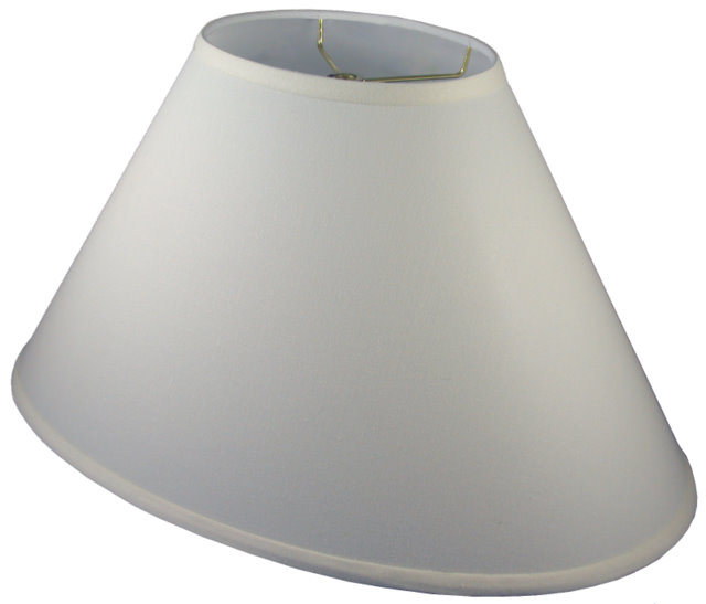 OVAL (elliptical) - Coolie Hardback Lampshade
