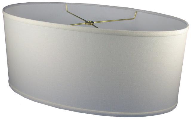 OVAL (elliptical)   Cylinder Hardback Lampshade