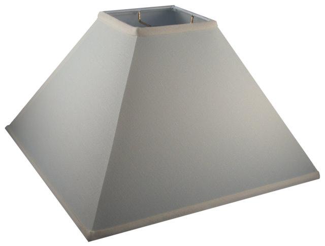Sharp Corner Square Coolie Hardback Lampshade