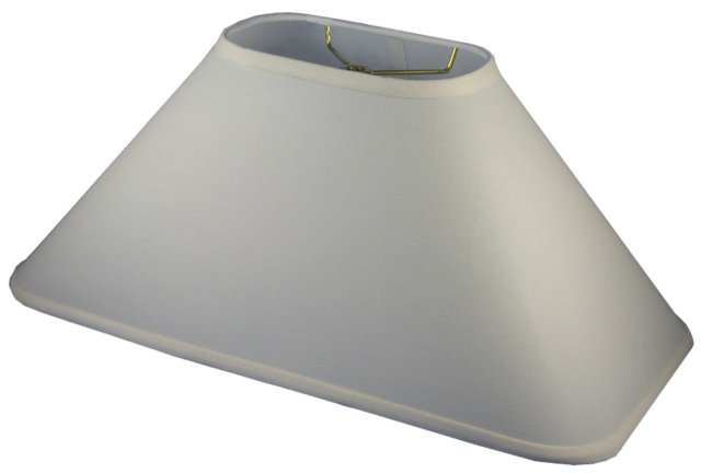 Round Corner Rectangle Coolie Hardback Lampshade