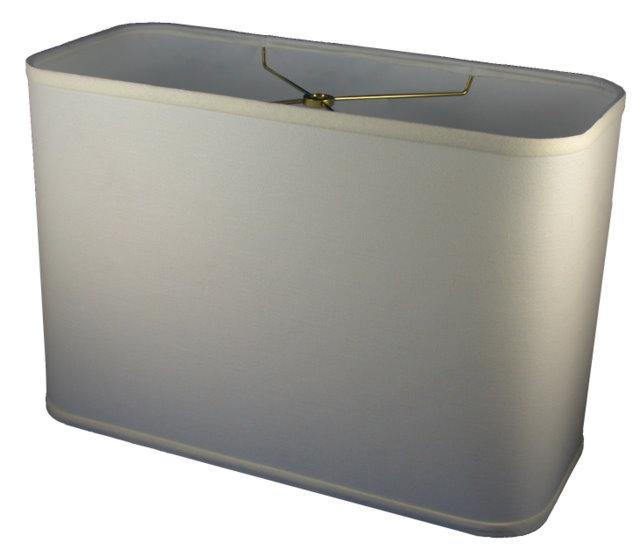 Round Corner Rectangle   Cylinder Hardback Lampshade