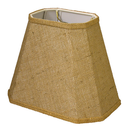 Cut Corner Rectangle Hardback Lampshade