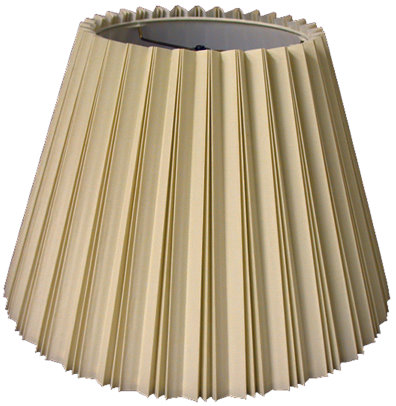 Inverted Knife Pleat Hardback Lampshade Style
