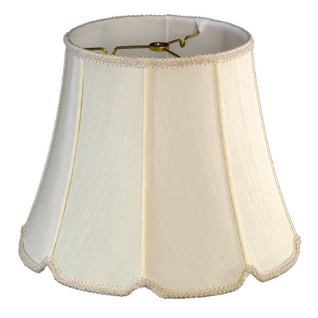 Round Top, V-Notch Bottom Soft Tailored Lampshade