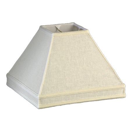 Square w/Gallery Soft Tailored Lampshade
