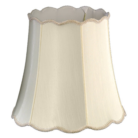 Scallop Top & Bottom Soft Tailored Lampshade