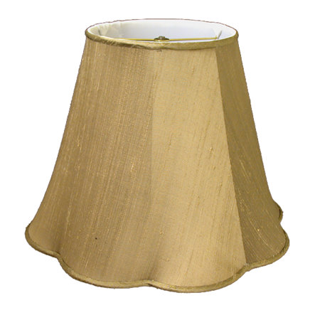 Round Top, Outscallop Bottom Soft Tailored Lampshade