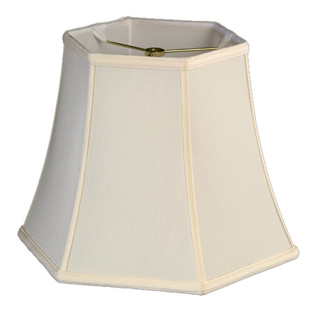 Hexagon Bell Soft Tailored Lampshade
