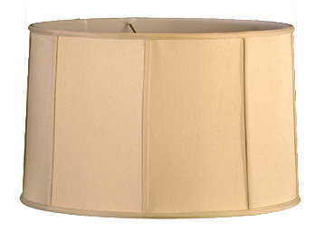 Cylinder - Shallow Soft Tailored Lampshade