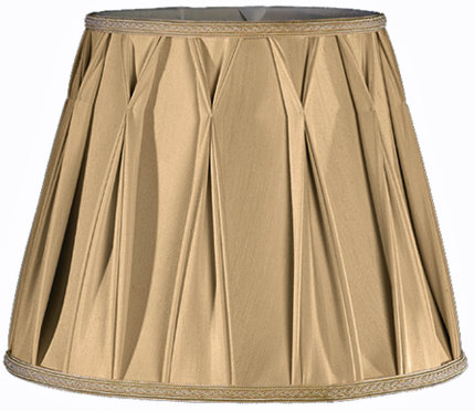 Box Drape with Smock Soft Tailored Lampshade Style
